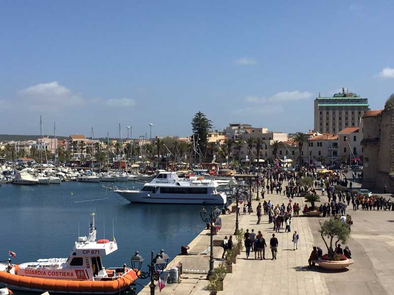 Alghero, marina - Photo: NetFabric Web Solutions
