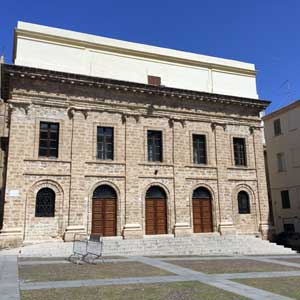 Alghero: Civic Theater - Photo: NetFabric Web Solutions